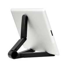 JETTING Foldable Adjustable Angle Tablet Bracket Stand Holder Mount for iPad Tablet PC Mobile Phone Holder Less Than 10 Inch(China)