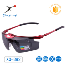 Shanghai Innovation Award Cycling eyewear Banglong Factory brand Outdoor Changeable 3 lenses UV400 Sports Polarized Sunglasses
