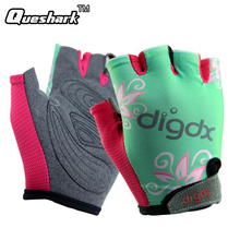 Children Mountain MTB Road Bike Bicycle Gloves Breathable Riding Half Finger Cycling Gloves for Kids Boys Girls Sports Gloves