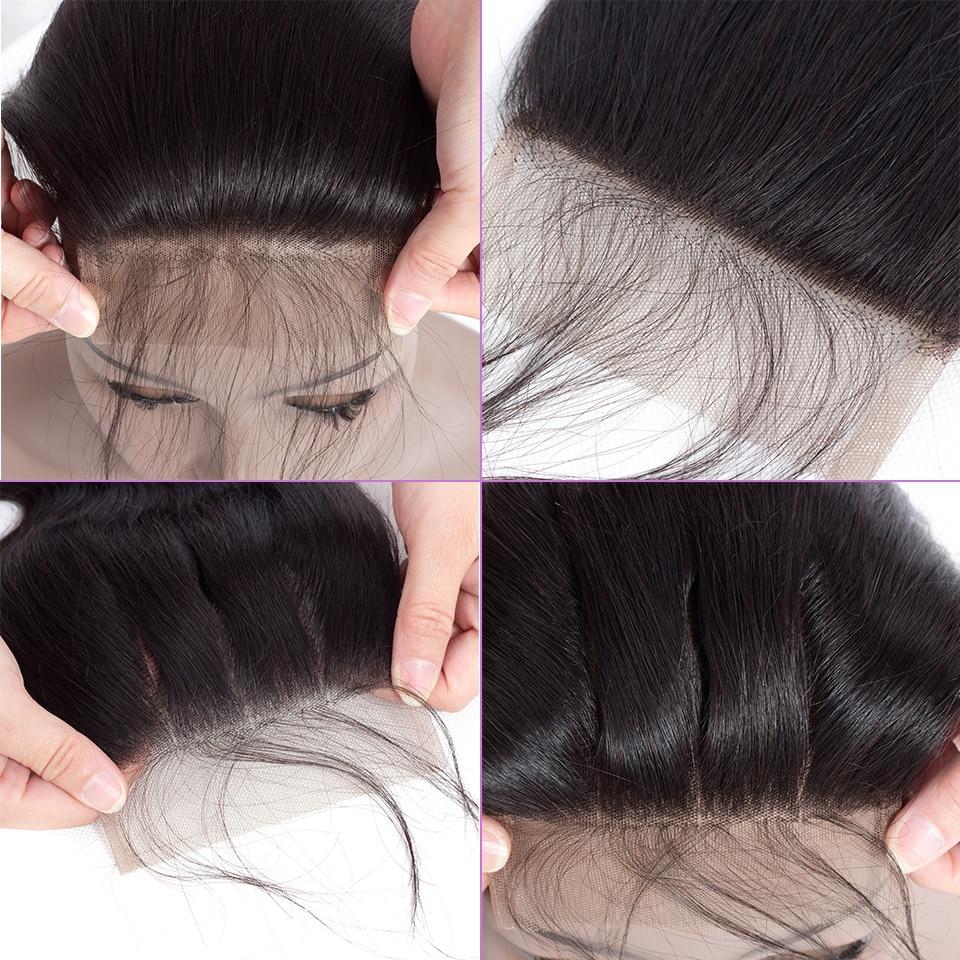 Peruvian virgin hair with closure (5)