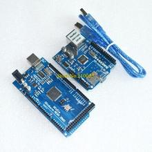 ! Ethernet W5100 network expansion board SD card Shield for  with Mega 2560 R3 Mega2560 REV3 and usb cable