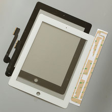 10Pcs New Touch Screen Glass Digitizer assembly For iPad 3 assembly A1416 A1403 A1430 free by dhl