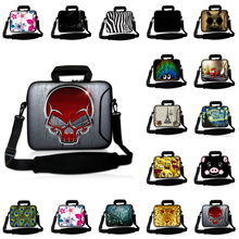 "Brand 12.1"" Notebook Computer Shoulder Bags + Handle 11.6 inch Mini PC Tablet Netbook Neoprene Messenger 12"" Laptops Briefcase"