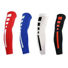High Quality Mens Sports Basketball Shooting Cycling Compression Arm Sleeve Elbow Protector Pad Pads Support Brace Arm Warmers