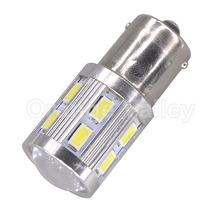 1Pcs High Quality P21W 1156 BA15S 12 SMD 5730 Super Brightness Brake Parking Reverse Lights 5630 Fog Lamps Turn Signal Bulb