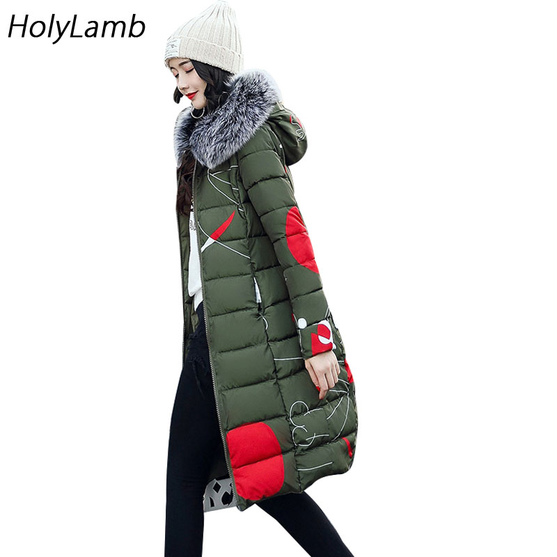 2017 Autumn Winter Women Coat Jacket Women Parkas Casual Thicker Jackets Plus Size Fur Collar Parkas Both Sides Wear Long ParkasÎäåæäà è àêñåññóàðû<br><br>