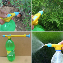 New Mini Juice Bottles Interface Plastic Trolley Gun Sprayer Head Water Pressure