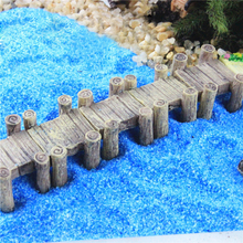 Water Corridor Harbour Bridge Miniature Fairy Garden Home Houses Decoration Mini Craft Micro Landscaping Decor DIY Accessories(China)