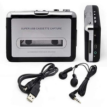 Tape to PC Storage USB Cassette to MP3 Converter Capture Audio Music Player
