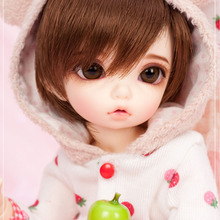OUENEIFS Littlefee Bisou Fairyland bjd sd dolls 1/6 model reborn girls boys eyes High Quality toys makeup shop resin(China)