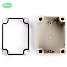 80*110*70mm IP66 Electronic Plastic Enclosure ABS PC Clear Cover box junction box(China)