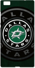 Printed NHL Dallas Stars Plastic Hard Cell Phone Cover For Huawei Honor 6 7 Ascend P6 P7 Mini P8 P9 Lite Mate 7 8 Mobile Case