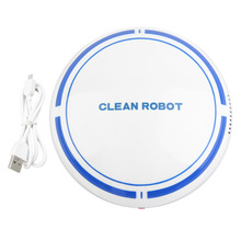 USB Rechargeable Vacuum Smart Sweeping Robot Slim Sweep Suction Mini Automatic Sweeping Machine Broom Household Sweeper Robots(China)