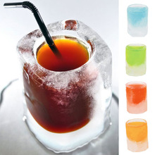 Silicone Ice Cube Tray Shot Glass Mold Novelty Gifts Drinking Tool Kitchen Accessories