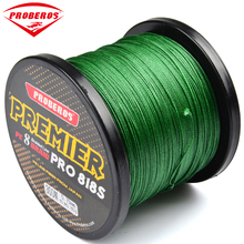 300M PE Fishing Line Red/Green/Grey/Yellow/Blue 8 stands 8 Weaves Braided Line Available 40LB-300LB PE Line Yellow Package