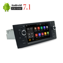 1Din Android 7.1 Car Radio GPS Navigation Multimedia Stereo For Fiat Grande Punto Linea 2008 2009 2010 2011 2012 Auto Video Play(China)
