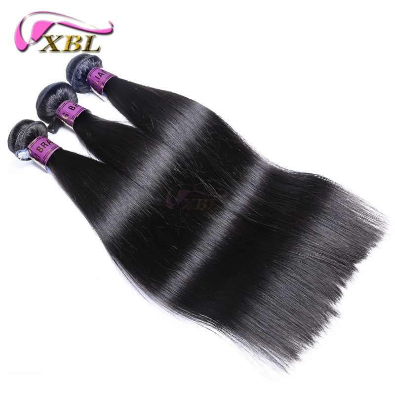 Brazilian Straight Hair 3 bundles 300g Human Hair Bundles Rosa Hair Products Virgin Human Hair Extensions Tissage Bresilienne<br><br>Aliexpress