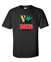 The Big Bong Theory Novetly Gift Idea 4:20 Pot Drugs T Shirt