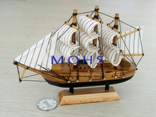 Free shipping wooden sailing boat model wood scale model merchant ship in  middle ages finished products do not need to assembly