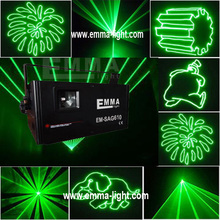 40kpps scanner 1w ilda green laser ,programmable green laser show ,sd card laser light(China)