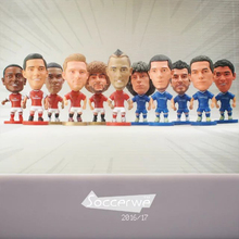 "50PCS/LOT FOOTBALL 2.5"" Figurine (Mixed Order) Doll Toy Figure Shipping Free"