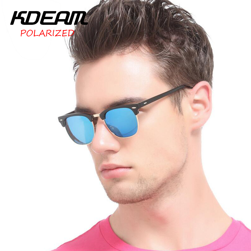 KDEAM Club Polarized Sunglasses Men Party Sun Glasses Women Brand HD Polaroid lens Classical Outdoor Eyewear With case KD3016<br><br>Aliexpress