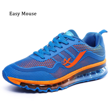 New Brand 2017 Men Running Shoes Lightweight Breathable Air Mesh Shoes Lace Up Men Sneakers Men Sport Shoes Max Zapatos Hombre