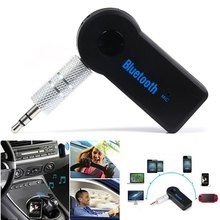 Bluetooth 3.0 Car Kit Wireless Car Auto Audio Music Receiver Video Player Handsfree Function Microphone USB for iPhone Android