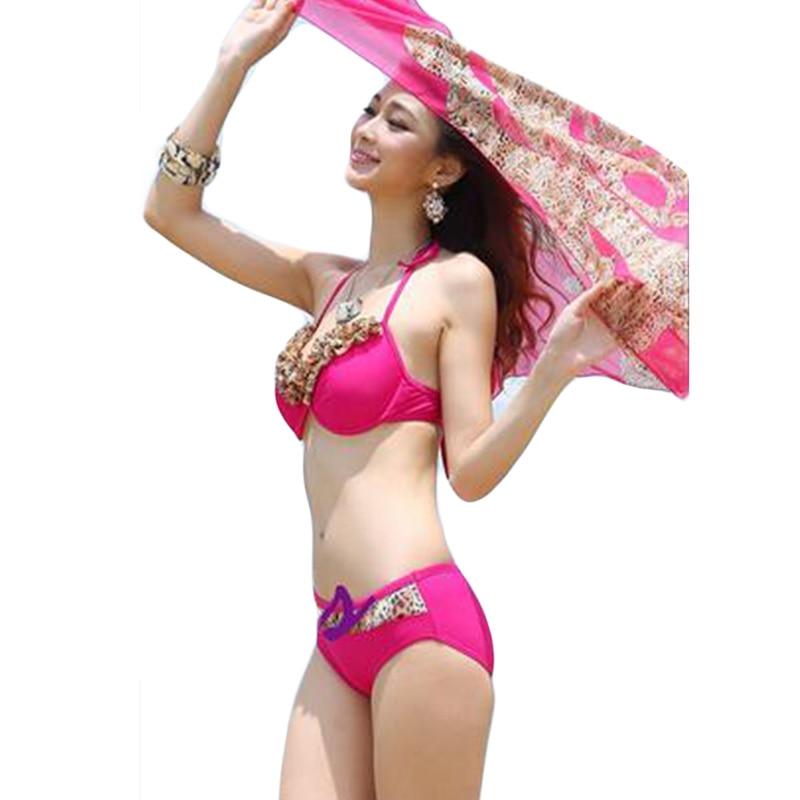 Summer  Womens Bikini Set Stylish Swimwear Push Up Biquini Swimming Suits Unlined Bra Beach Wear Maillot De Bain DA878<br><br>Aliexpress