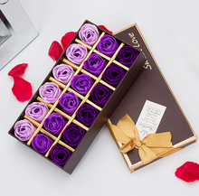 18pcs/set Creative Romantic Rose Flower Soap Flowers For Valentine's Day Gift