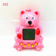 Hot Tamagochi Electronic Digital Pet Toy Funny Virtual Pet Game 5 Colors Bear Model Machine Virtual Electronic animal Child Gift