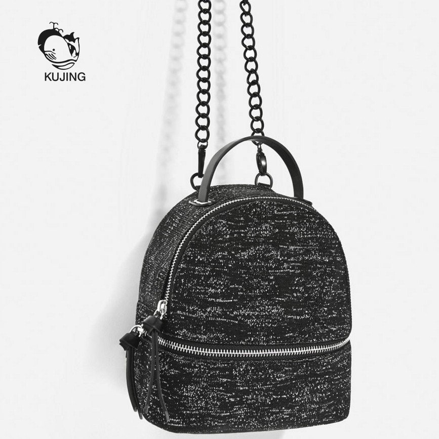 KUJING Brand Fashion Backpack High Quality Luxury Woman Mini Backpack Hot Travel Casual Woman Backpack Woman Cheap Backpack<br>
