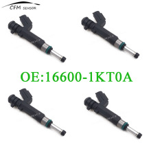 4pcs New Brand 16600-1KT0A For Fuel Injector Nozzle Nissan Versa 2012-2015 1.6L HR16DE