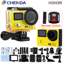 Original EKEN H3/H3R Action Camera Wifi Ultra HD 170D Go Waterproof Mini Cam Pro Double Screen Sport Camera