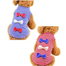 Pet dog clothes spring and summer thin section Teddy Bears dog VIP clothing pet supplies star bow vest