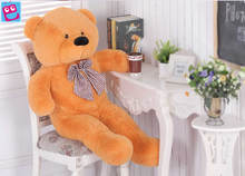 2016 Giant 100cm Cute Plush Teddy Bear Huge Soft TOY for Christmas gift and kids gift