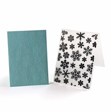 Gear Plastic Embossing Folder For Scrapbook DIY Album Card Tool Plastic Template Stamp Gear Design Card Making Decoration(China)