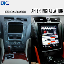 DLC Android system For lexus GS 2004-2011 Navigation GPS car player Video 10.4 inches auto radio Steering-Wheel bluetooth(China)