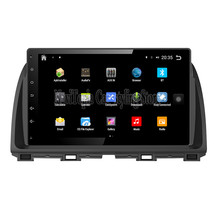 NaviTopia Brand New 10.1inch Quad Core Android 6.0 Car PC For Mazda Atenza Car Audio Player With GPS Navigation(China)