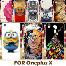 Painting design Hard Plastic Case For OnePlus X One Plus X E1001 E1003 OPPO A30 5.0 inch Cell Phone Cover Protective Sleeve Hood