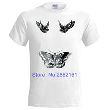 2017 Hot Sale New Men'S T Shirt Harry Styles Tattoo Inspired Mens T Shirt 1D One Direction Swag Fresh High