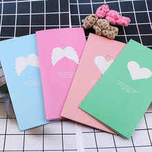 Cute Love Heart&Butterfly Kraft Paper Greeting Postcards Wishes Envelope For DIY Festival Greet Cards Gift Stationery Supplies