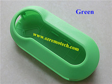 key shell 3 button remote key cover GREEN color for Fiat blank