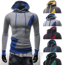 plus size sweat homme  Men Casual Stylish Slim Fit Pocket mens hoodies and sweatshirts sudadera element hombre free ship