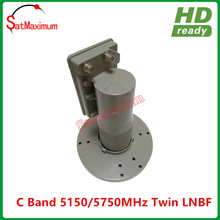 C Band Satellite Dish LNBF Twin Output 17K for weak Signal areas(China)