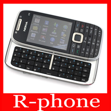 Original Nokia E75 Mobile Phone 3G Wifi Unlocked QWERTY Keyboard Slider Cell Phone & One year warranty(China)
