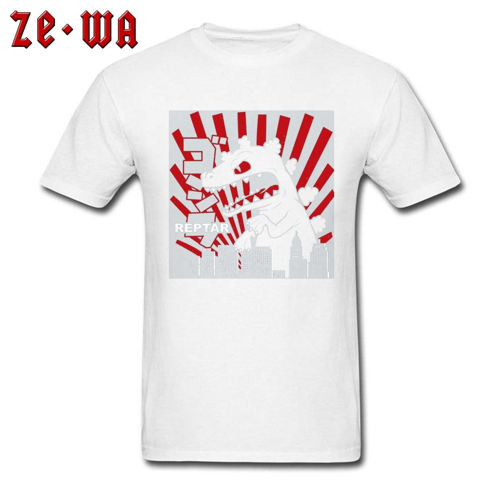 Green Reptar Rugrats 21845 New Design Short Sleeve Normal T Shirt 100% Cotton Crew Neck Men\`s Tops & Tees T Shirt Summer Green Reptar Rugrats 21845 white