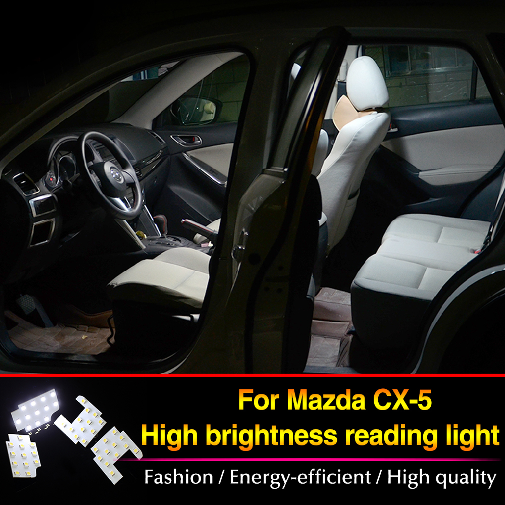 Free shipping! For MAZDA CX-5 CX5 Atenza Axela LED reading lights interior lights dome lamp for cx-5 accessories 4pcs/lot<br><br>Aliexpress