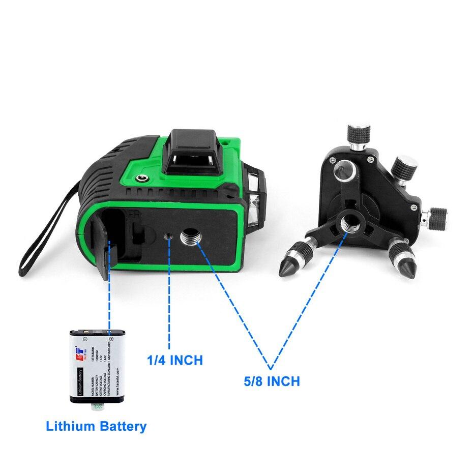 Kaitian Laser Level MG3D3 INTERFACE