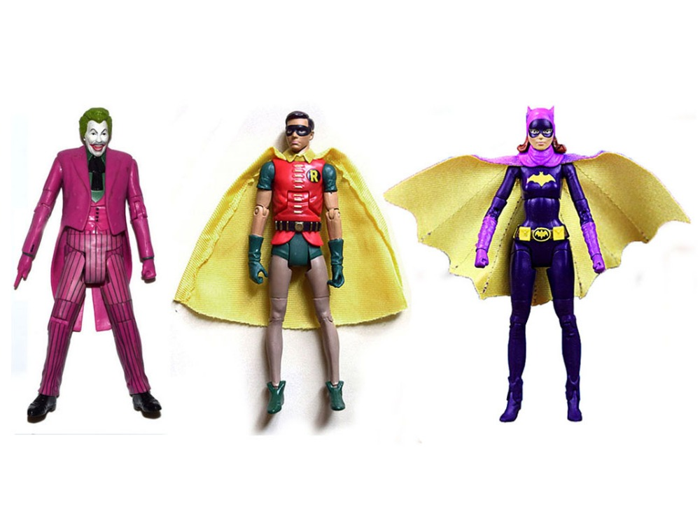 "DC Universe Batman 1966 Tv Series Robin Joker Batgirl 6/"" Loose Action Figure"